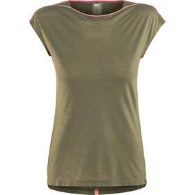 Millet Cloud Peak Kortærmet T-shirt Damer oliven